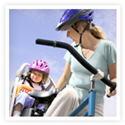 Be sure you know when its safe to start bike riding with your little one.