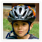 Start your little biker off right - introduce them to the rules of the road and the importance of a helmet!