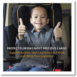 Help protect Florida's Kids with Booster Seats