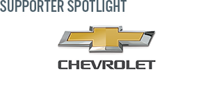 Chevrolet is out sponsor of the week.