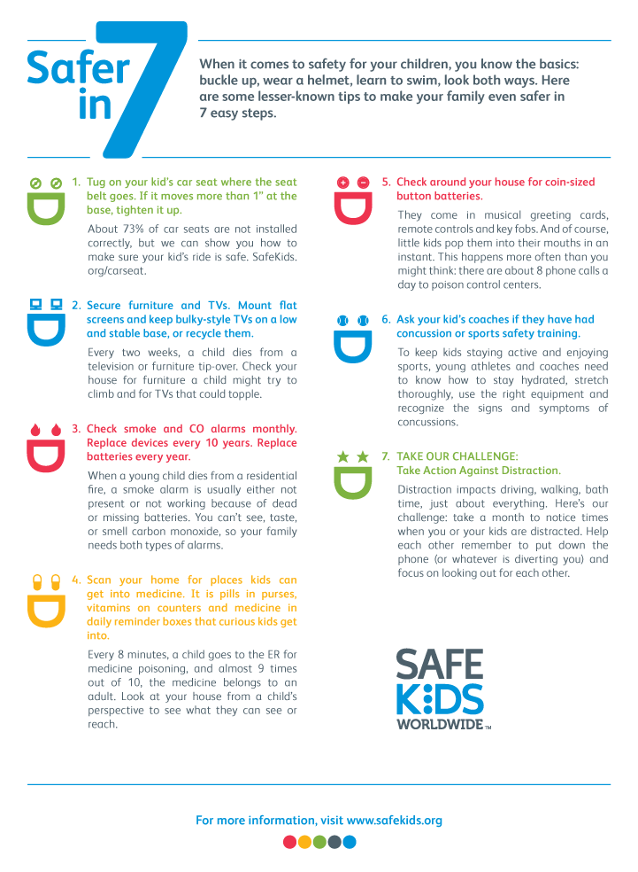 Simple things you can do to keep your family safe