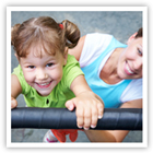Learn how to keep your child safe as they play on a playground