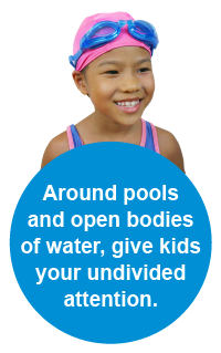 Be safe when swimming - know the tips!