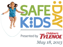 Celebrate Safe Kids Day on May 18!
