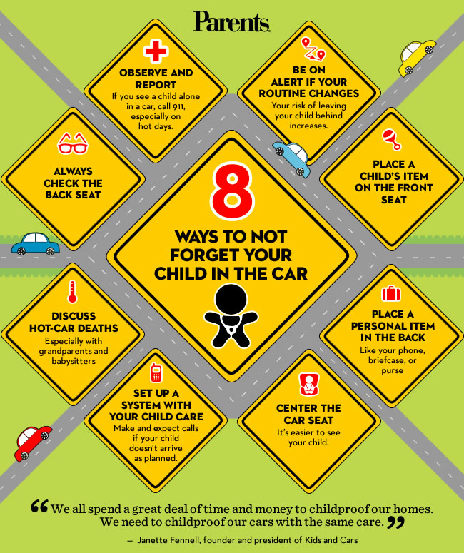 Ways to Leave a Child in a Car