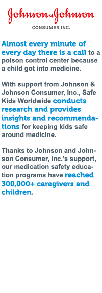 A list of three statistical data from Johnson & Johnson Consumer, Inc.