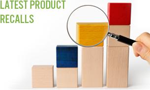 latest product recalls