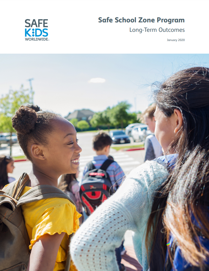 Safe School Zone Program: Long-Term Outcomes Report Cover