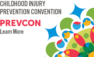 The logo for the 2019 PrevCon - The Biennial Injury Prevention Convention