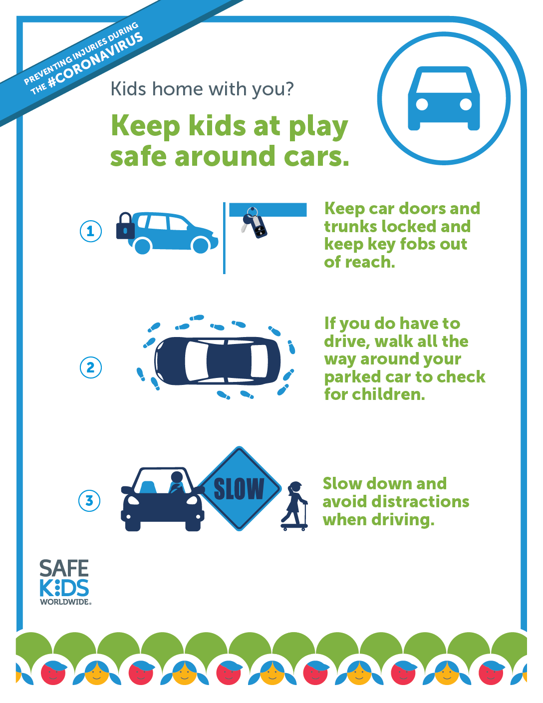 Safety in and around cars