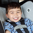 Photo: Toddler in Car Seat