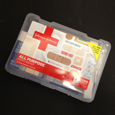 A first aid kit which is an essential part of disaster preperation