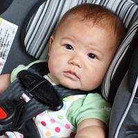 baby in car set