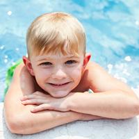 Water Safety - child in pool