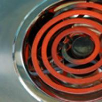 Hot stove tops can cause fires and injuries