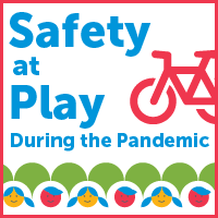 Safety at play during the pandemic.