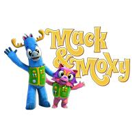 Mack the moose and Moxy the racoon