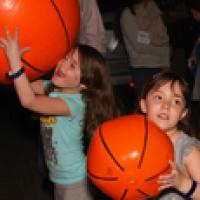 Children playing at Safe Kids Day 2014
