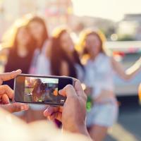Teen join in the challenge by filming a short video.