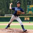 Teen baseball player