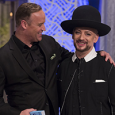 Boy George finishes Second in The New Celebrity Apprentice