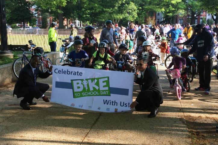 Bike to School Day 2014