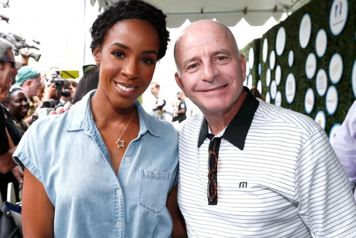 Kelly Rowland and Dr. Peter Waldstein at Safe Kids Day 2016