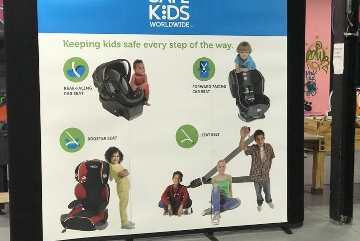 Tips for how to select the right car seat at GM Detroit Checkup Event