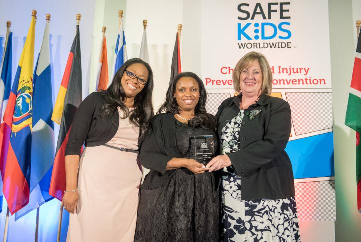 Carol Ann Giardelli, Safe Kids New Jersey receives the Excellence in Home Safety Award.