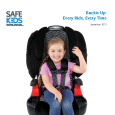 Do You Always Buckle up Your Kids? (September 2013)