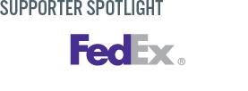 FedEx Sponsor page