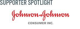 Supporter spotlight Johnson & Johnson Consumer, Inc.