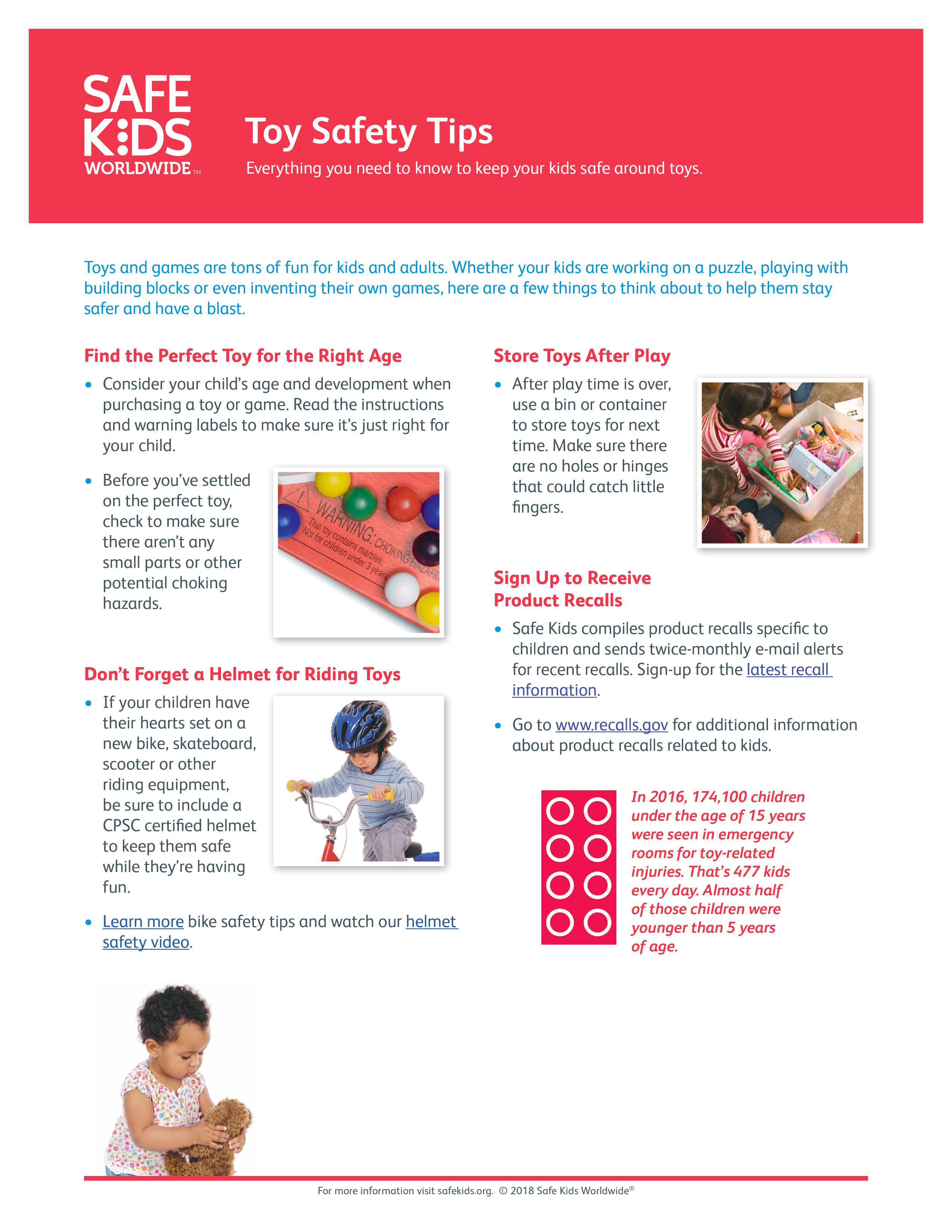 TOY SAFETY TIPS-2018