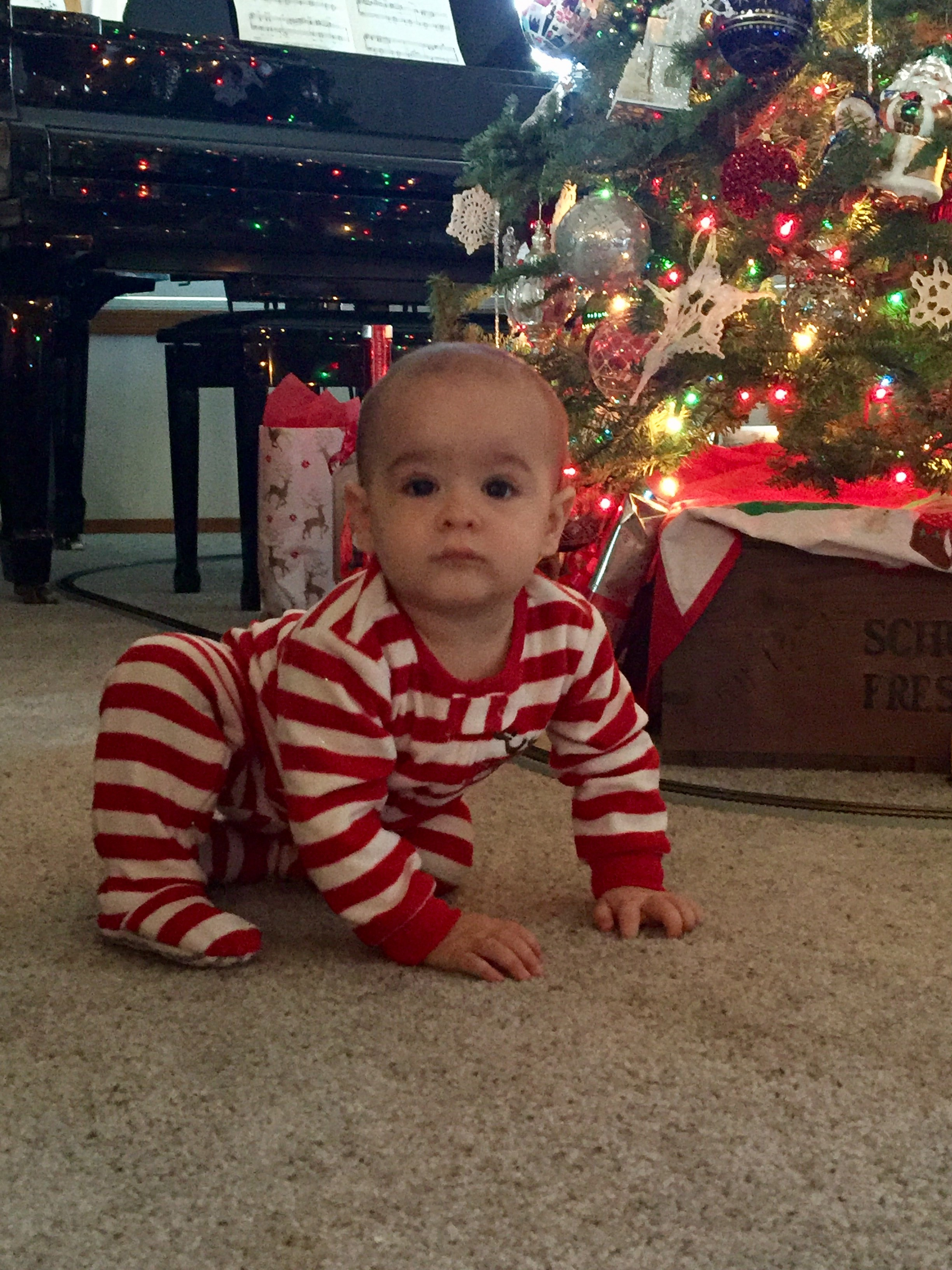Cute Kids on Christmas